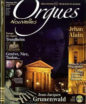 Orgues Nouvelles N.12 - Trondheim - Genève,: Orgues Nouvelles