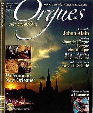 Orgues Nouvelles N.18 - Welcome In New: Orgues Nouvelles