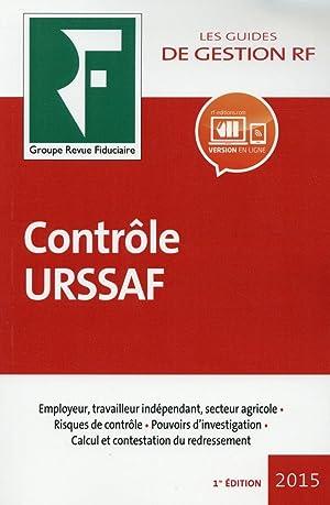 contrôle URSSAF (édition 2015): Collectif