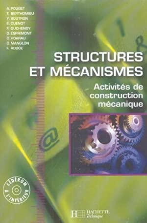 STRUCTURES ET MECANISMES - activites construction mecanique