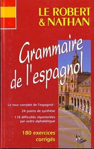 Le Robert et Nathan, grammaire de l'espagnol