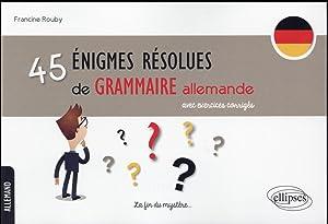 grammaire allemande avec exercices pdf