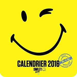 calendrier 2016 - smiley