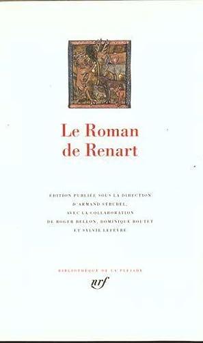 le roman de Renart: Anonyme