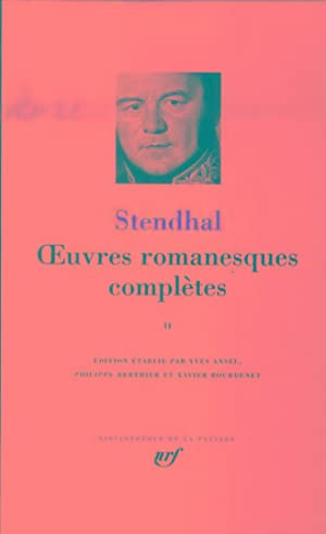 oeuvres romanesques complètes t.2: Stendhal