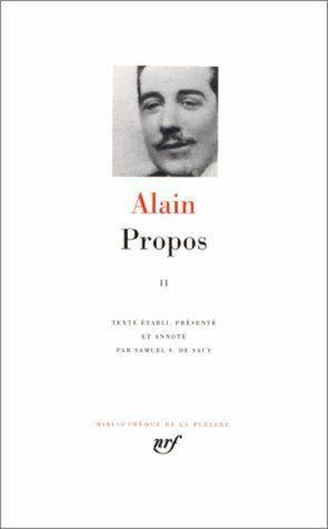 propos t.2 - 1906-1936
