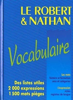 Le Robert et Nathan, vocabulaire: Collectif