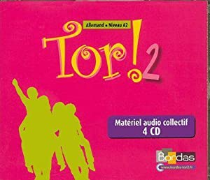 TOR - allemand - niveau 2 - 4 cd audio de la classe