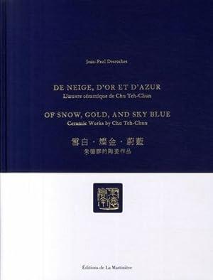 De neige, d'or et d'azur: Collectif