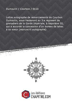 Napoleon Iii Lettre Autographe De Napoleon Iii Pas De