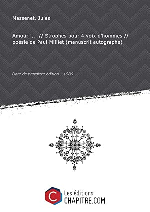 Massenet Jules 1842 1912 Iberlibro