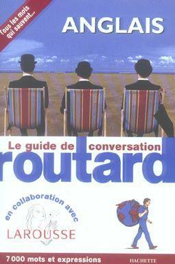 Le guide de conversation du routard