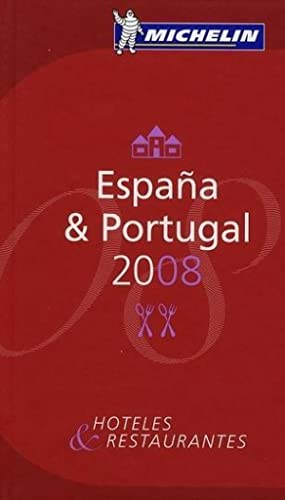guide Michelin España et Portugal (édition 2008)