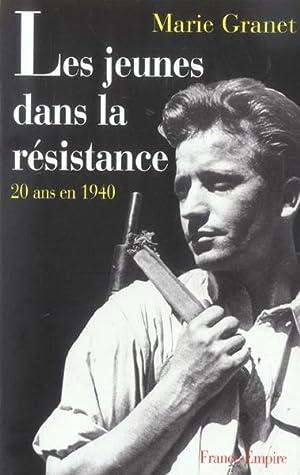 Les jeunes dans la Résistance