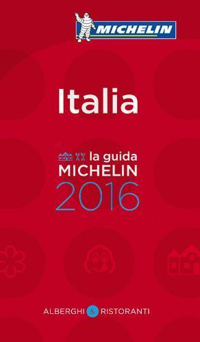 GUIDE ROUGE - Italia - la guida michelin (édition 2016)