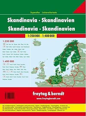 superatlas Scandinavie (édition 2017): Collectif