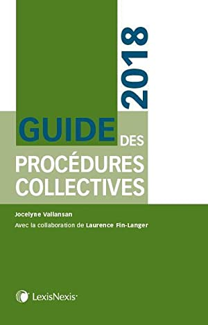 guide des procédures collectives (édition 2018)