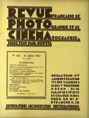 REVUE PHOTO CINEMA N° 302 DU 15