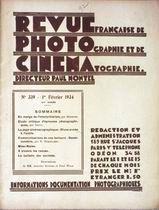REVUE PHOTO CINEMA N° 339 DU 01