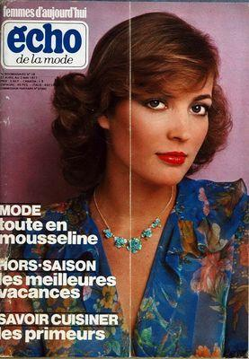 ECHO DE LA MODE LA FEMME D'AUJOURD'HUI