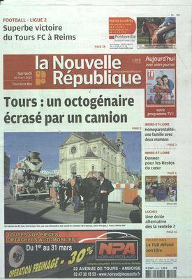 NOUVELLE REPUBLIQUE (LA) N° 20491 DU 10