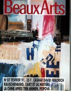 BEAUX ARTS MAGAZINE N° 87 DU 01