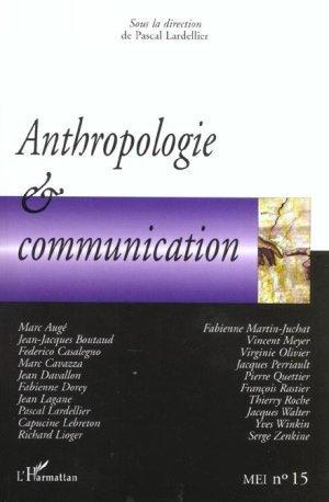 anthropologie et communication