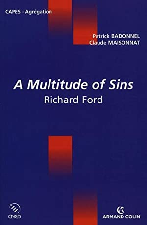 a multitude of sins - Richard Ford