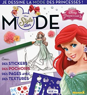 Disney princesses - Ariel - je dessine la mode des princesses !