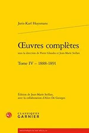 oeuvres complètes t.4 - 1888-1891