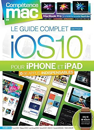 le guide complet iOS 10 pour iPhone et iPad