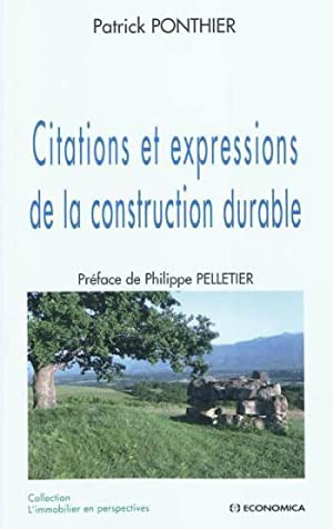 Citations et expressions de la construction durable
