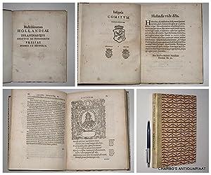 Illustrissimorum Hollandiae Zelandiaeque comitum ac dominorum Frisiae: SCRIVERIUS, PETRUS,