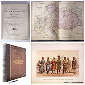 The comprehensive atlas & geography of the: BLACKIE, W.G.,