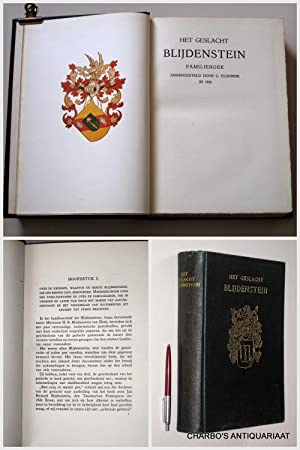 Het geslacht Blijdenstein. Familieboek.: ELDERINK, C.,