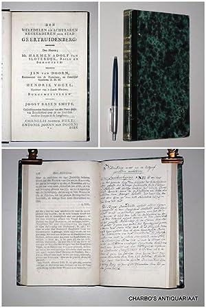Korte beschrijving van Geertruidenberg; in deszelfs opkomst;: NUYSSENBURG, IZAAK VAN,