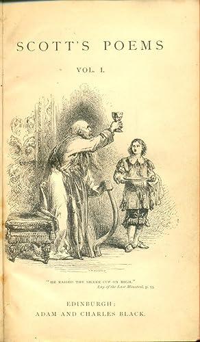 The Poetical Works of Sir Walter scott,: Scott, Sir Walter