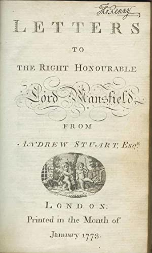 Letters to the Right Honourable Lord Mansfield