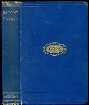 bacon s essays first edition abebooks bacon s essays and colours of good and wright w aldis