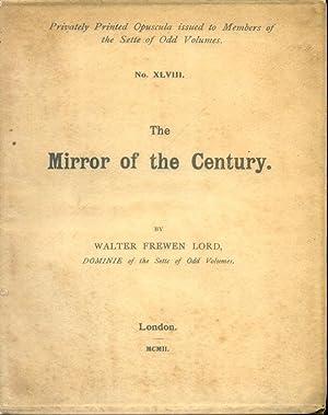 The Sette of Odd Volumes; Opusculum XLVIII: Lord, Walter Frewen