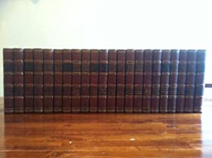 Complete set of 22 volumes Of Waverley Novels