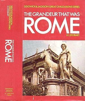 THE GRANDEUR THAT WAS ROME (SIDGWICK &: Stobart, John Clarke