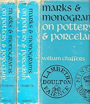 MARKS & MONOGRAMS On European and Oriental: CHAFFERS William, GODDEN