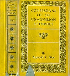 Confessions of an Un-Common Attorney: Reginald L Hine