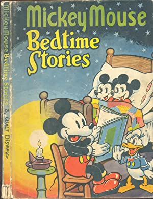 Mickey mouse bedtime story book