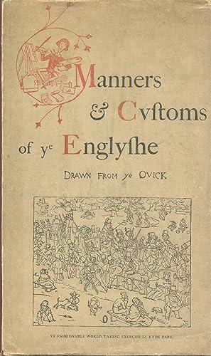 Manners & Customs of Ye Englyshe Drawn: Doyle, Richard