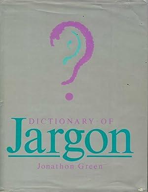 Dictionary of Jargon: Green, Jonathon
