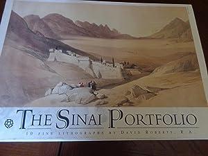 The Sinai Portfolio: 10 Fine Lithographs: David Roberts