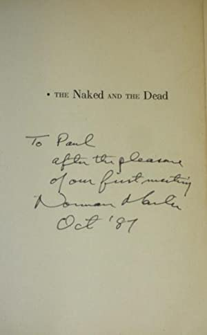 The Naked and the Dead [Inscribed Association Copy]