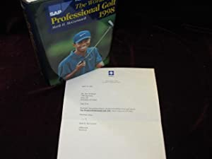 The World of Professional Golf 1998 (Signed, Tom Weiskopf's copy)